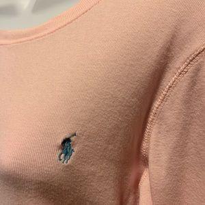 Ralph Lauren Sport Pink Long Sleeve Shirt Sz M